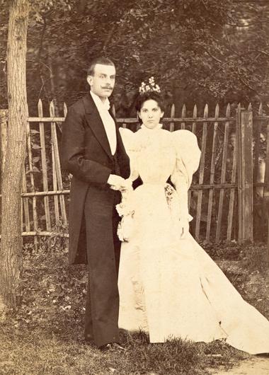 Estelle Arpels and Alfred Van Cleef
