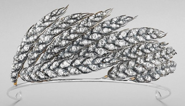 Wheat Tiara Made by Chaumet for Princess Josephine in 1811