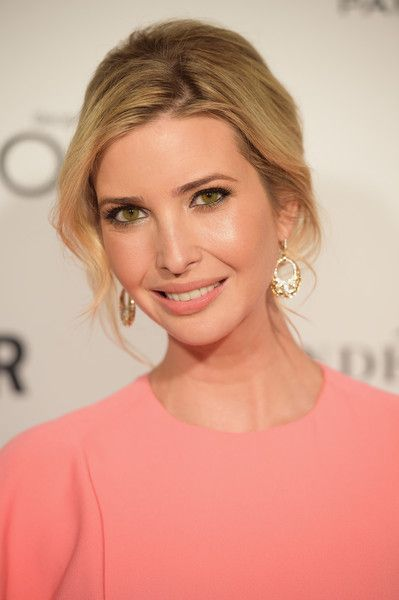 ivanka-trump-gold-earrings
