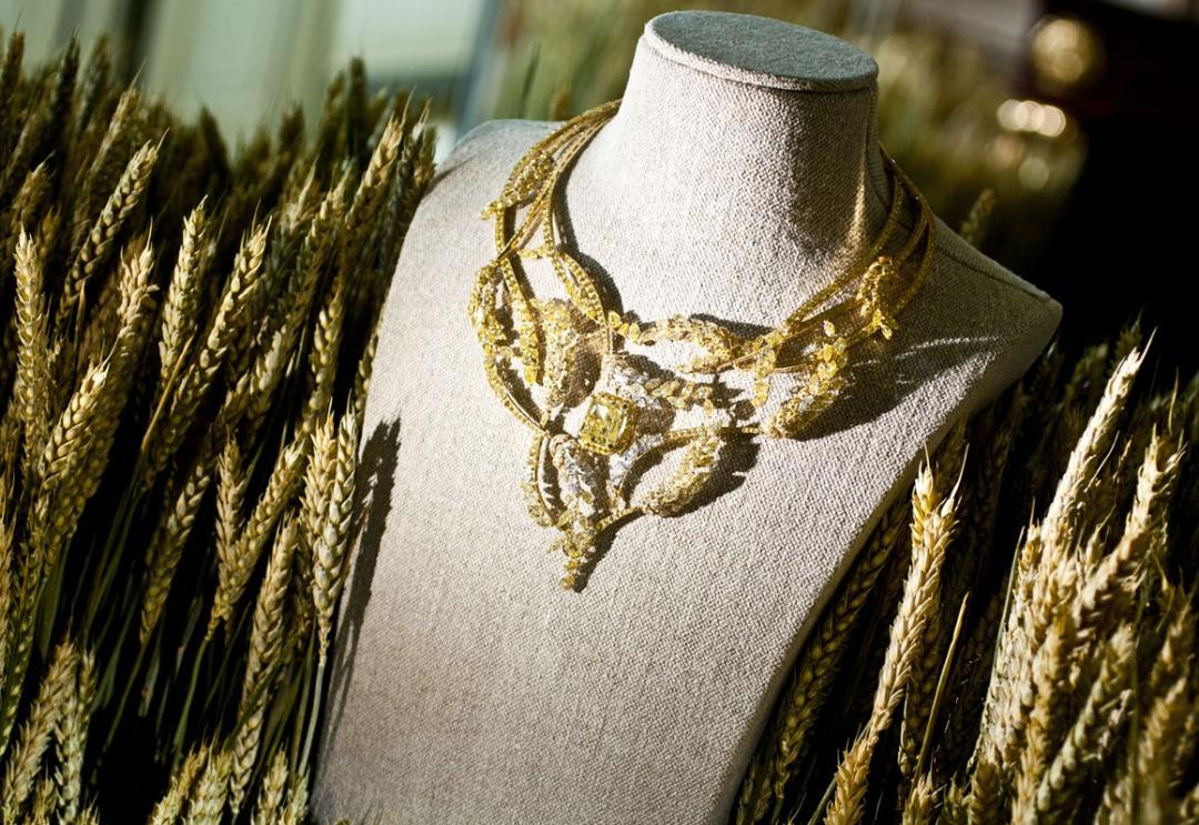 Les Blés de Chanel wheat necklace
