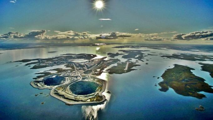 Diavik Diamond Mine Northwest Territories