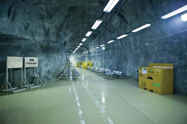 Mine-facilities