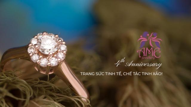 ame jewellery 4th anniversary